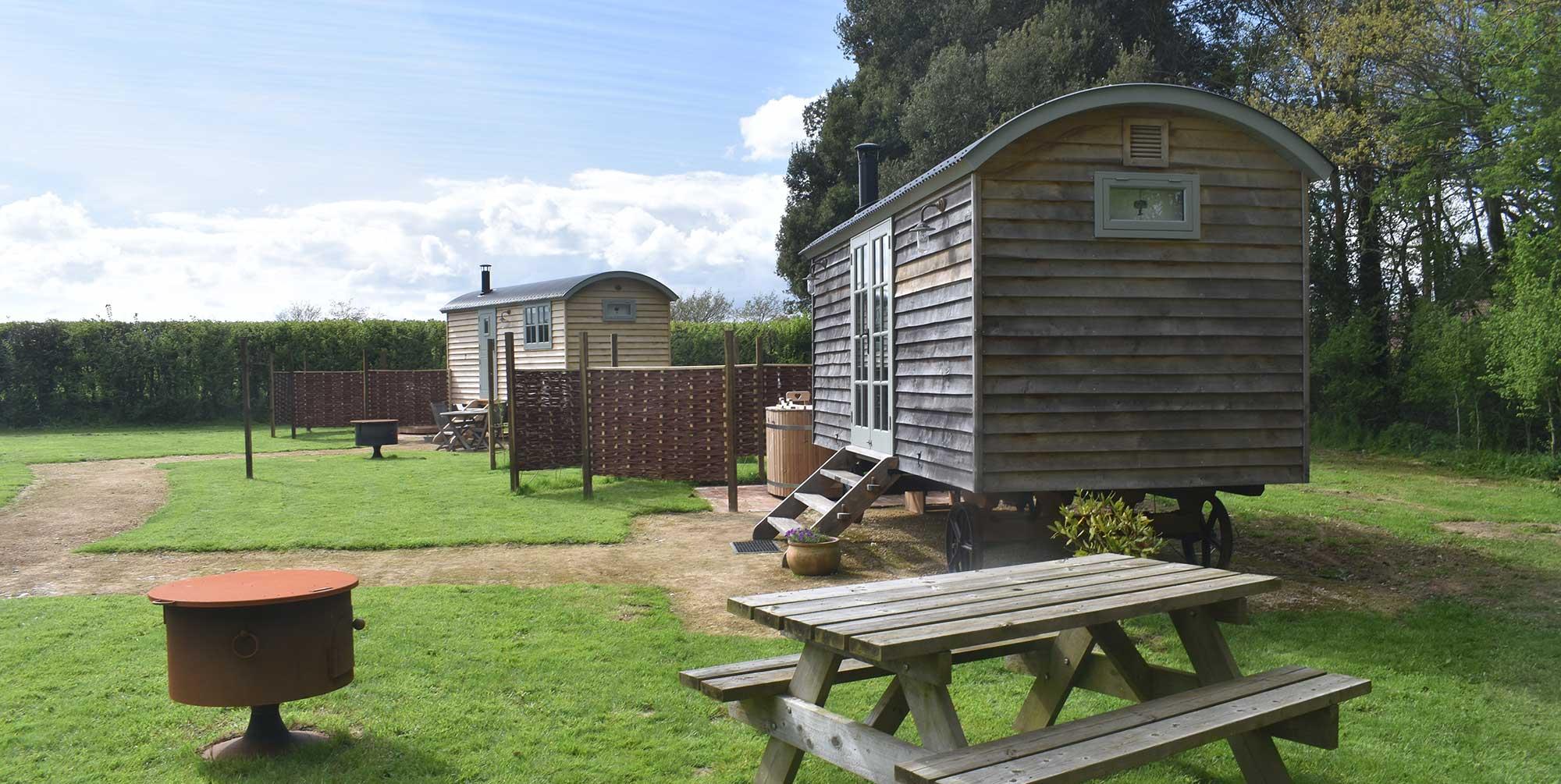 Shepherd hut Stanley