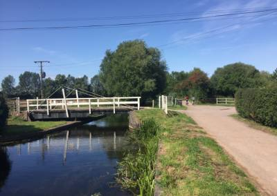 Taunton to Bridgwater canal tow path